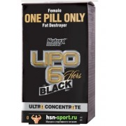 Lipo-6 Black Hers Ultra Concentrate (60 капс)
