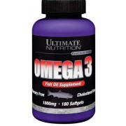 Omega 3 Ultimate Nutrition (180 капс)
